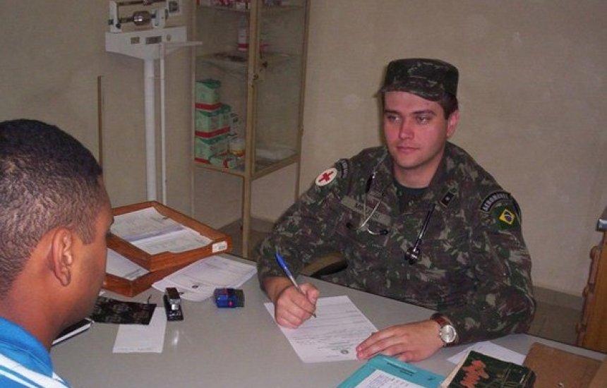 [Exército abre 127 vagas para cursos na área de saúde]