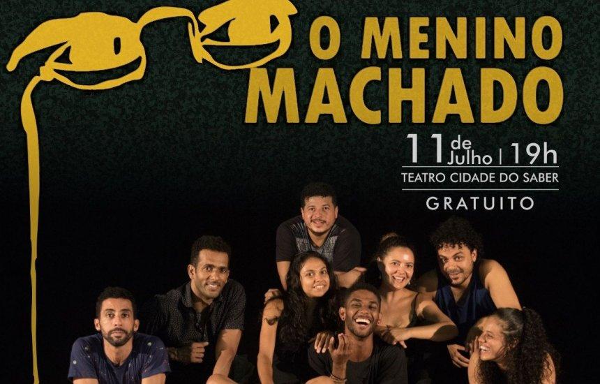 [Espetáculo O Menino Machado tem entrada gratuita nesta quinta (11/7)]