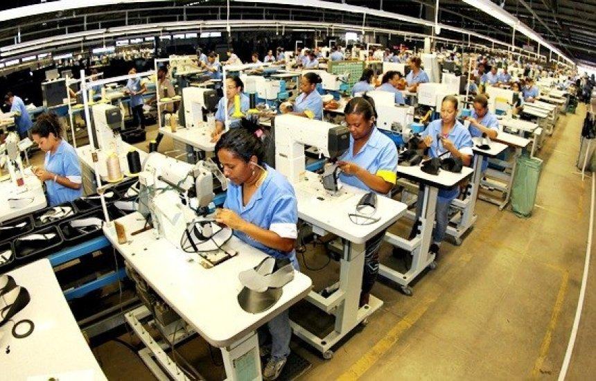 [Produção industrial baiana avançou 1,1% em maio]