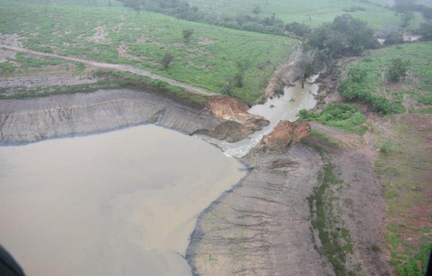[Governo confirma rompimento de barragem em cidade na Bahia]