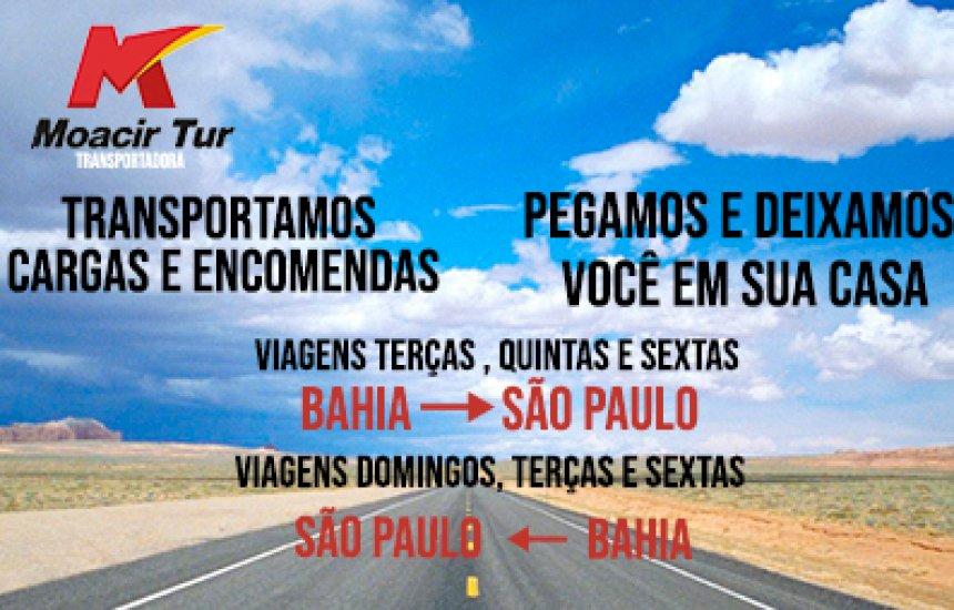 Moacir Tur : Passagens para São Paulo com as melhores condições