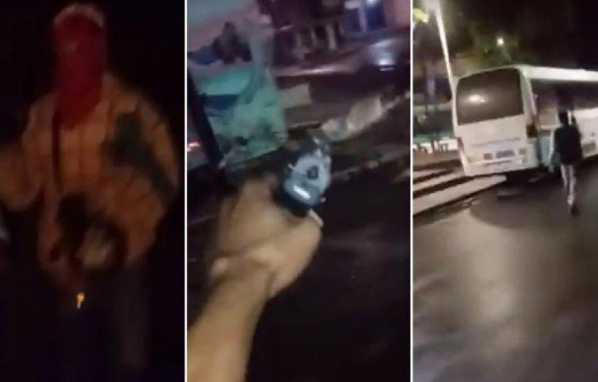 [Homem morre e mulher é baleada após integrantes de facção invadirem bairro]