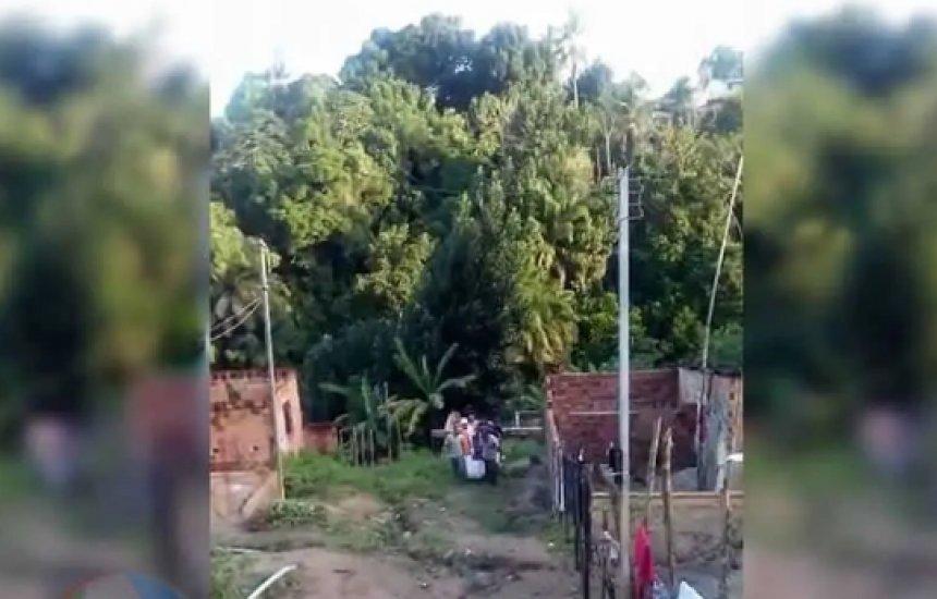 [Jovem de 20 anos morre sufocado após cair de coqueiro em Simões Filho]