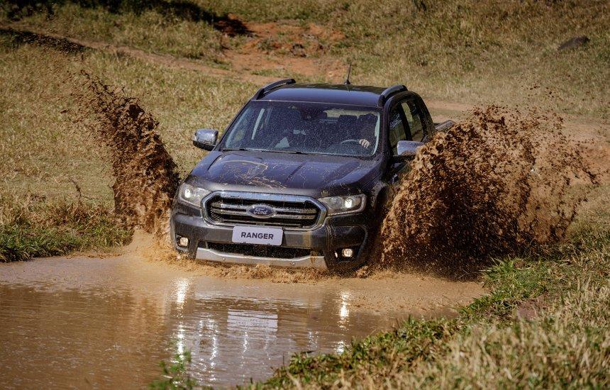 [Ford Ranger 2020 ganha nova suspensão e amplia o conforto fora de estrada]