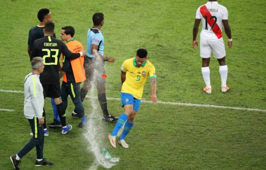 [Gabriel Jesus é multado e suspenso por revolta na Copa América]