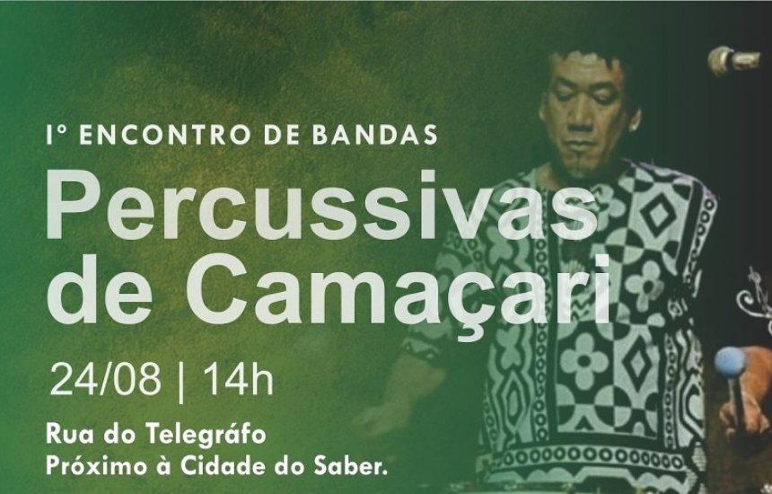 [Banda Som do Timbal promove I Encontro de Bandas Percussivas em Camaçari]