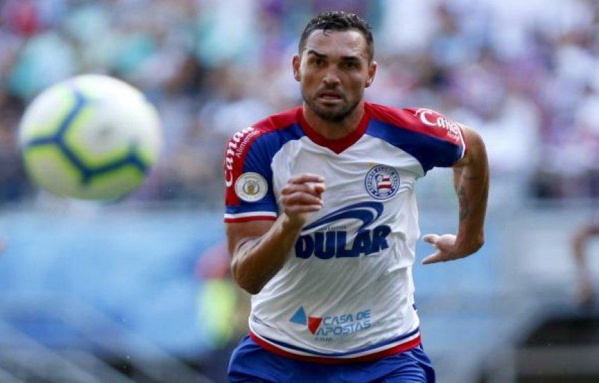 [Gilberto marca dois gols e Bahia empata com o Palmeiras no Allianz]