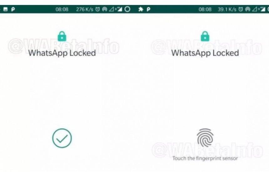 [WhatsApp ganha bloqueio por digital no Android]