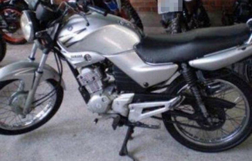 [Motocicleta é roubada no Verde Horizonte]