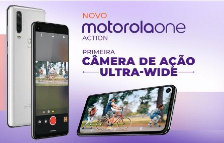 [Imagem revela que Motorola One Action chega ao Brasil nesta sexta (16)]