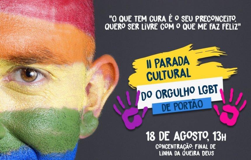 [IIª Parada Cultural do Orgulho LGBT de Portão é realizada neste domingo]