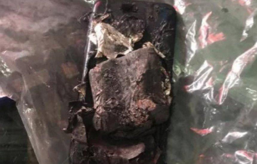 [Moto G7 Power explode no bolso e assusta garoto de 14 anos em Curitiba]