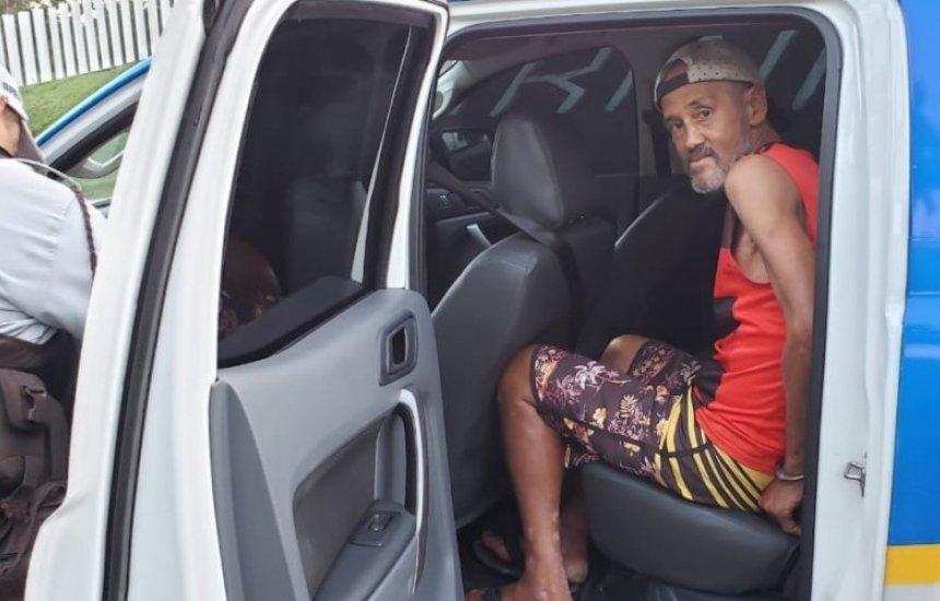 [Pela 4ª vez, em menos de um mês, idoso é preso ao furtar veículo em Dias d'Ávila]