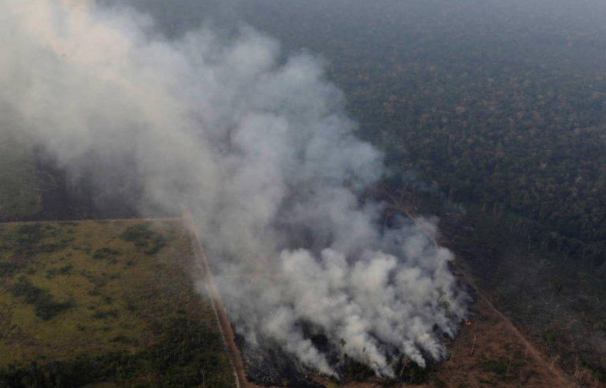 [Focos de incêndio na região têm assinatura do desmatamento, afirma Nasa]