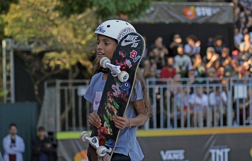 [Aos 11 anos, skatista pode representar o Brasil nas Olimpíadas]