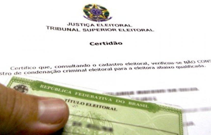 [TSE disponibiliza gratuitamente emissão de certidões eleitorais pela internet]