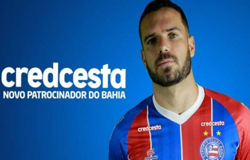 [Bahia apresenta Credcesta como novo patrocinador até 2020]
