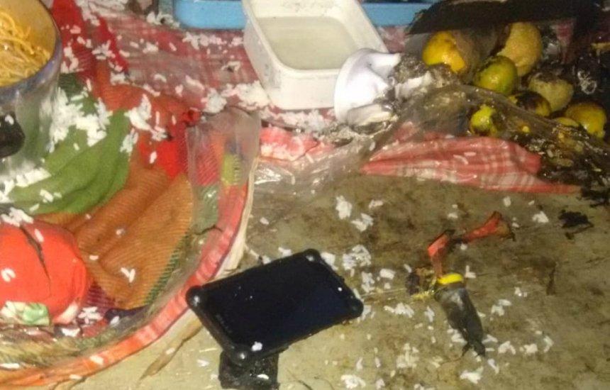 [Explosão dentro de casa deixa feridos e bombeiros suspeitam de botijão de gás]