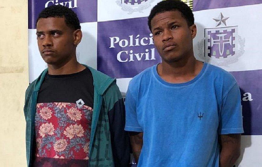 [Dois são presos por suspeita de matar delegado em Feira de Santana]