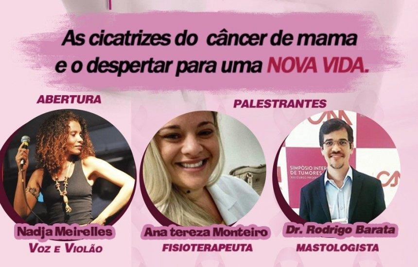[Exposição e palestra sobre o câncer de mama movimentam Cidade do Saber]