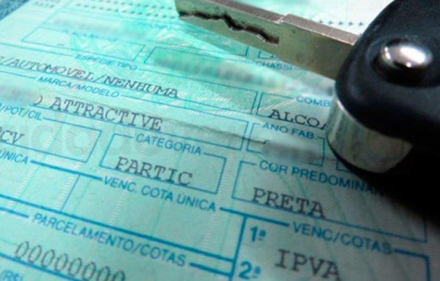 [Sefaz notifica 208 mil veículos por atraso no pagamento do IPVA]
