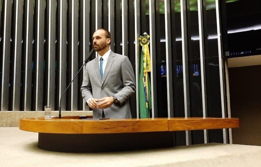 [Após nova lista, Eduardo Bolsonaro é nomeado líder do PSL na Câmara]