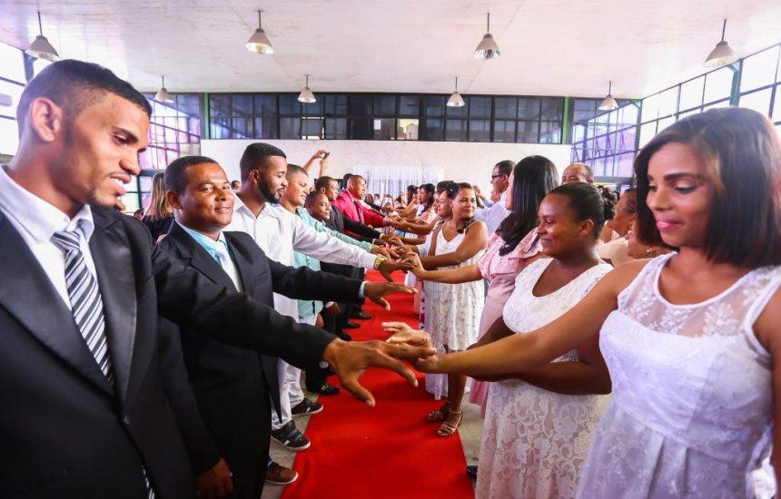 [IIª Edição do Casamento Coletivo acontece nesta sexta (25)]