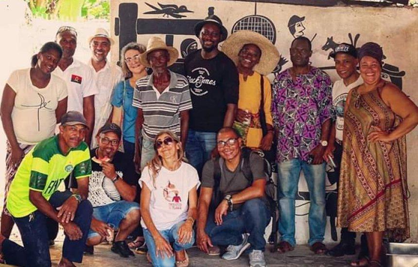[Chefs de cozinha africanos visitam Comunidade Quilombola de Cordoaria]