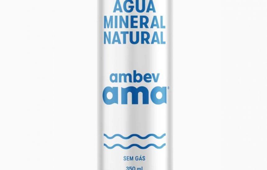 [Ambev lançará primeira água mineral em lata do Brasil]