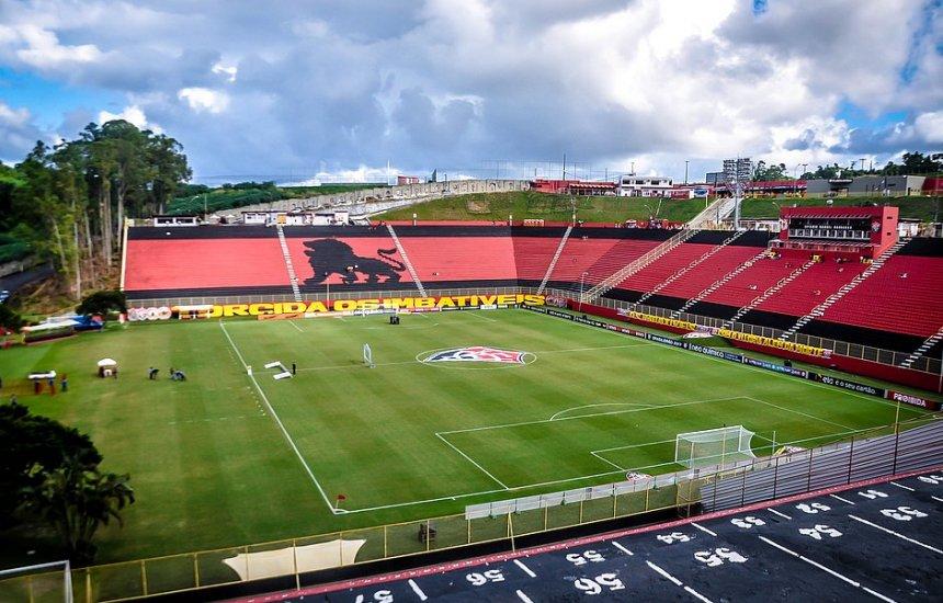 [Vitória desiste da Fonte Nova e vai jogar no Barradão até o fim da Série B]