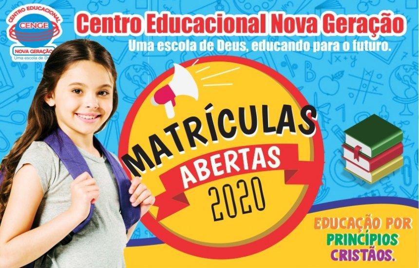 [Centro Educacional Nova Geração está com matrículas abertas]
