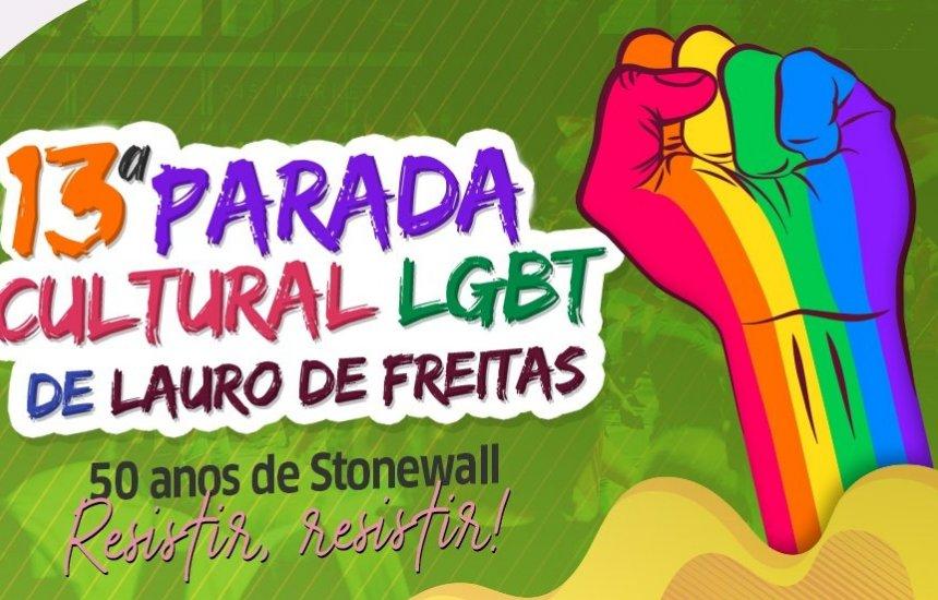 [Parada Cultural LGBT agita Lauro de Freitas neste domingo (24)]