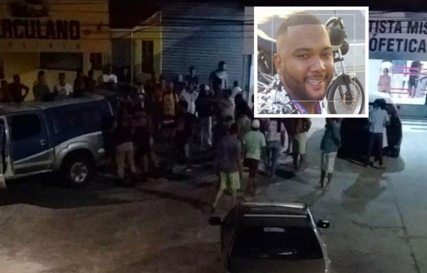 Homem é assassinado em via pública na Gleba C