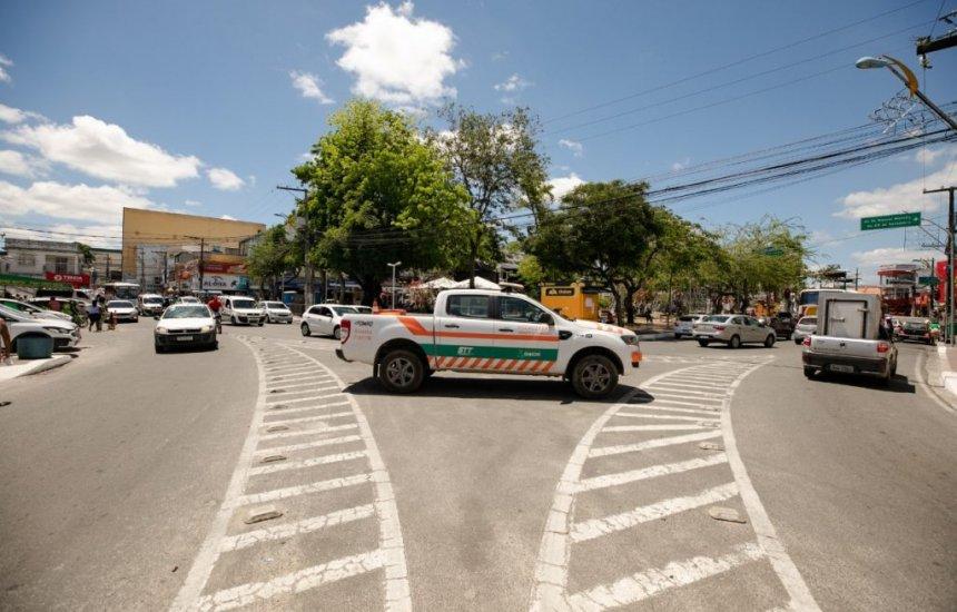 STT continua com operação de ordenamento no Centro de Camaçari