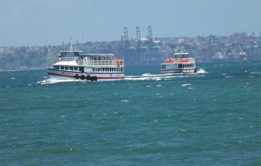 [Embarque é intenso no retorno da Ilha pela travessia Salvador-Mar Grande]