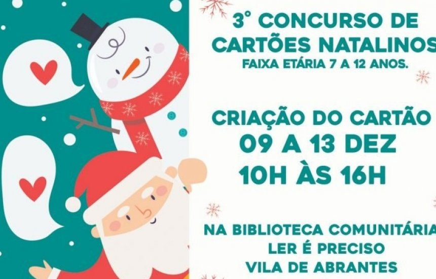 [Prazo para produção de cartões de Natal na Costa de Camaçari começa hoje]