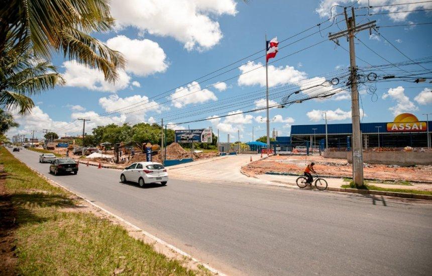 [Prefeitura implanta via que se encaixará na alça 3 do Viaduto do Trabalhador]