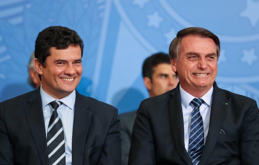 Pesquisa Datafolha aponta Moro com aprovação de 53%, acima de Bolsonaro