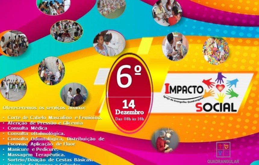 [Igreja Quadrangular promove 6ª edição do Impacto Social no Buri Satuba]
