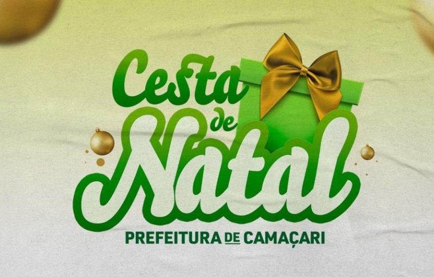 Entrega de cupons da cesta de Natal segue durante final de semana