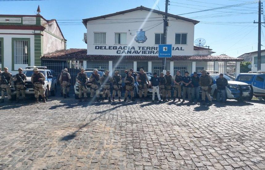 Sete traficantes e um menor localizados durante 'Operação Lázaro'