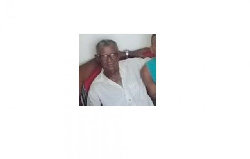 [Nota de pesar: morre o pedreiro Caetano Pereira Soares]