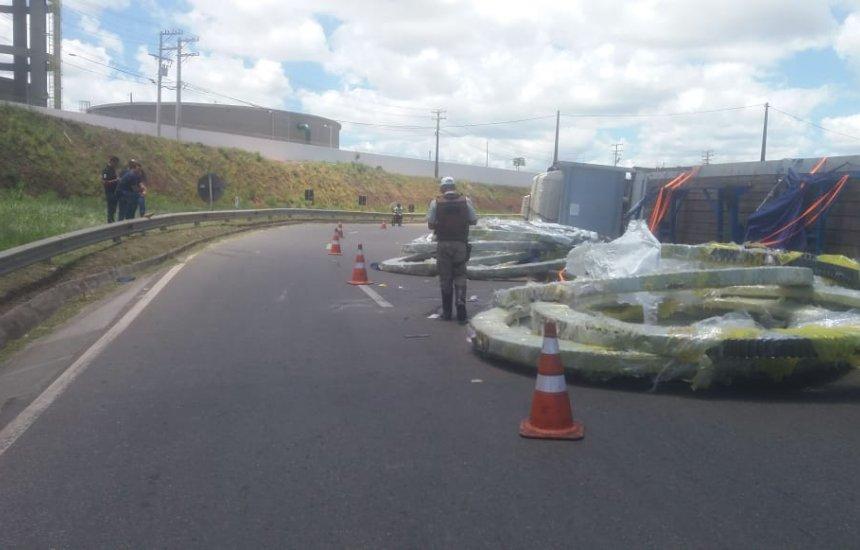 [Bahia Norte informa lentidão no trânsito na BA-526]