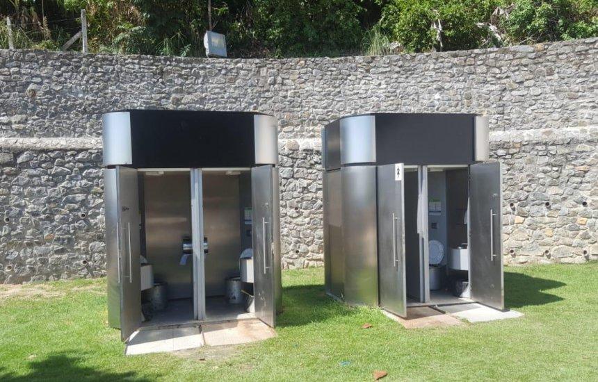 [Costa de Camaçari vai receber banheiros modernos e mais resistentes]