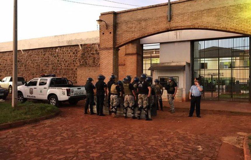 [Aliados do traficante 'Minotauro' estão entre presos do PCC fugitivos de prisão no Paraguai]