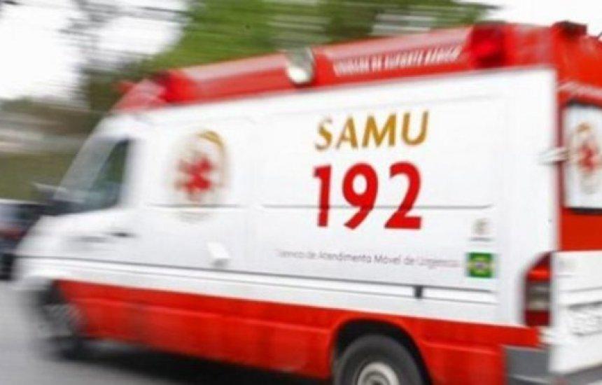 [Camaçari: ambulância do SAMU é atacada enquanto prestava socorro]