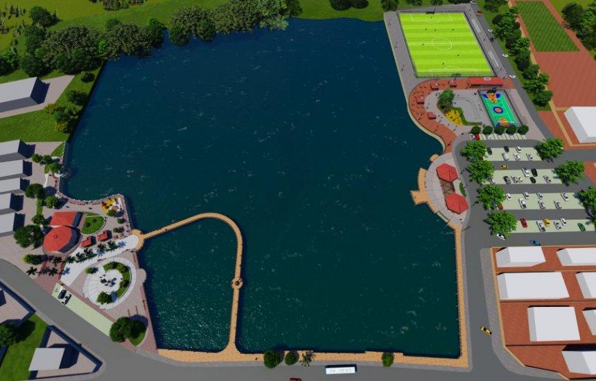 [Prefeito autoriza requalificação da lagoa e praça de Jauá nesta quarta (22)]