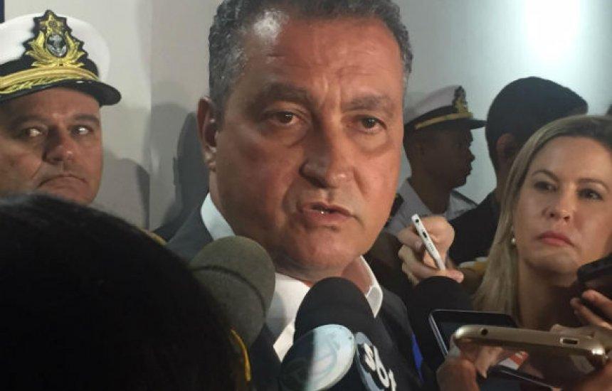 ['Reforma da Previdência da Bahia é a mais amena do Brasil', diz Rui Costa]