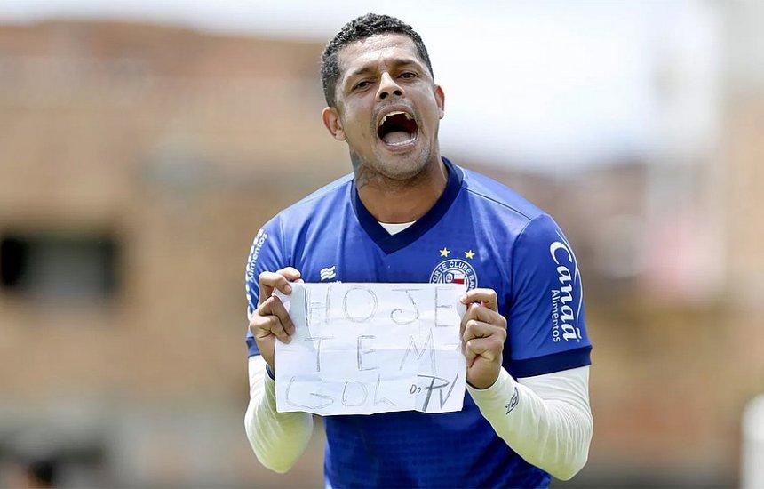 [Novo titular do Bahia, Anderson renova contrato até o fim do ano]