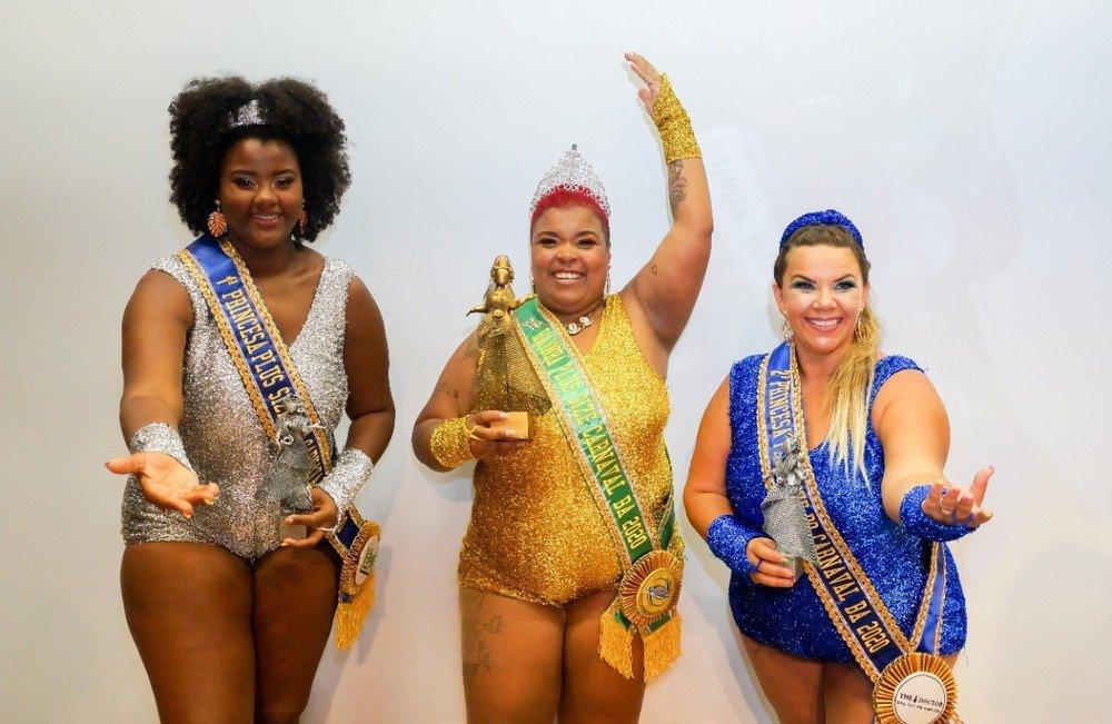 Cantora é eleita Rainha Plus Size do carnaval de Salvador 2